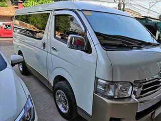 Van (10 seater) Car Rental